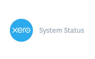 Xero Status Page